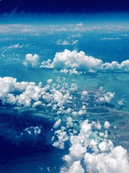 Vue depuis l'avion - Bahamas