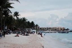 Couché de soleil - Playa del Carmen
