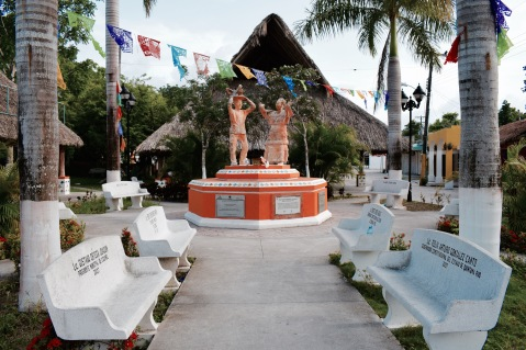 Place du village - Cozumel
