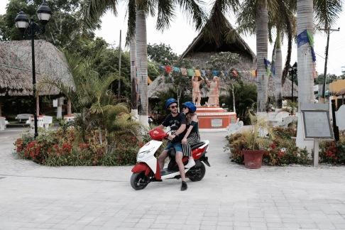 Promenade en scooter - Cozumel