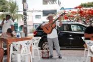 Chansons mexicaines au restaurant Los Aguachiles - Playa del Carmen