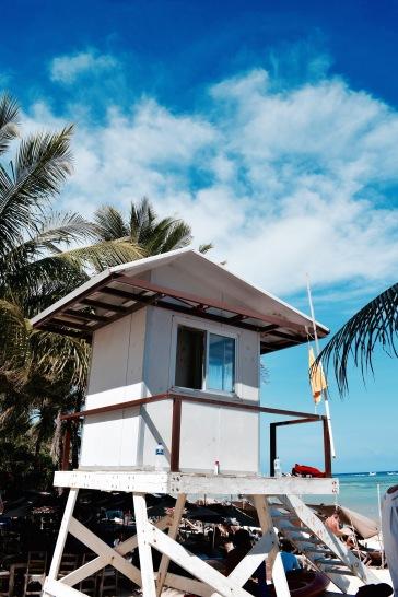 Poste de secours - Playa del Carmen