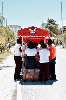 Vendeur ambulant - Mahahual