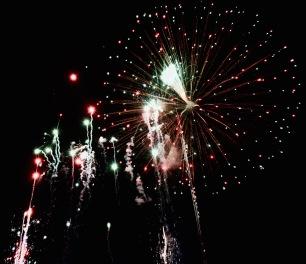 Feux d'artifices Dia de la Independencia - Playa del Carmen