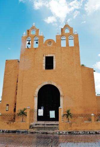 Église jaune - Izamal