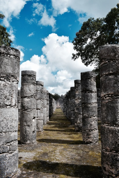 Temple des guerriers - Chichén Itza