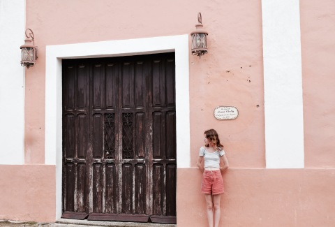Ruelle colorée - Valladolid