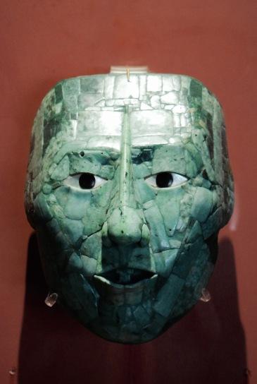 Masque de jade - Palenque