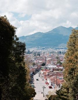 Point de vue Cerro de Guadalupe - San Cristobal de las Casas