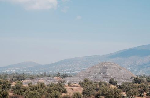 Pyramide de la Luna - Teotihuacan