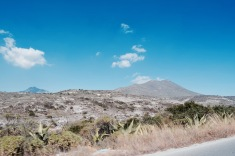 Paysage aride - État d'Hidalgo
