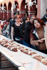 Distribution de roscas - San Miguel de Allende