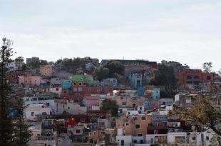 Maisons colorées - Guanajuato
