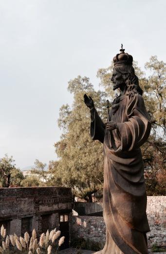 Statue du Christ - Mexico