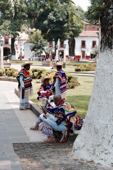 Habits traditionnels du Michoacan - Patzcuaro