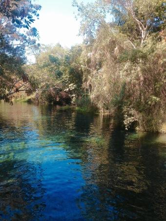 Rivière naturelle - Carnaval de Bahidora