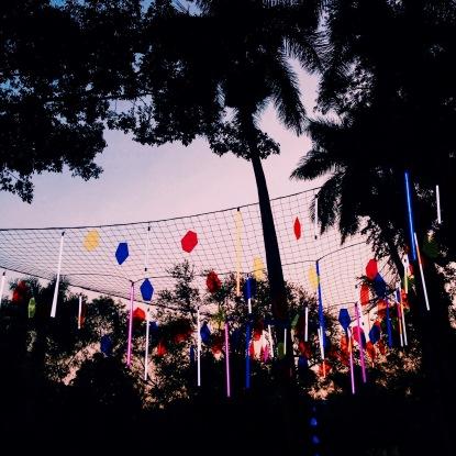 Couché de soleil - Carnaval de Bahidora