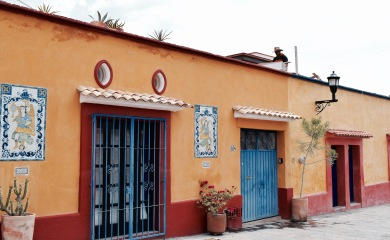 Les rues colorées - Oaxaca
