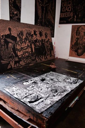 Ateliers d'artistes - Oaxaca