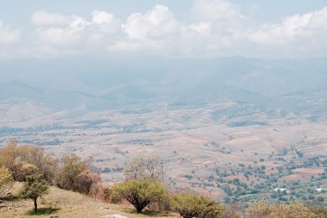 Panorama sur la Valle - Monte Alban