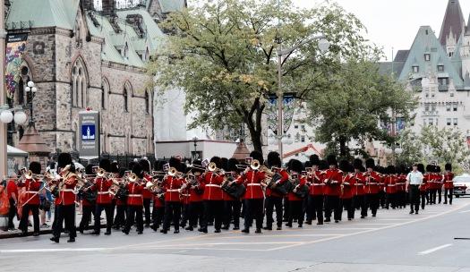 Relève de la garde - Ottawa