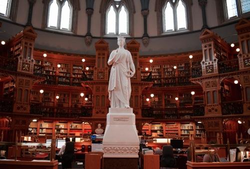 Bibliothèque du parlement - Ottawa