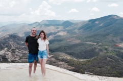 Vue sur la vallée - Hierve El Agua