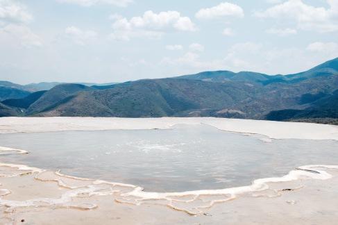 Bassin d'eau minérale - Hierve El Agua