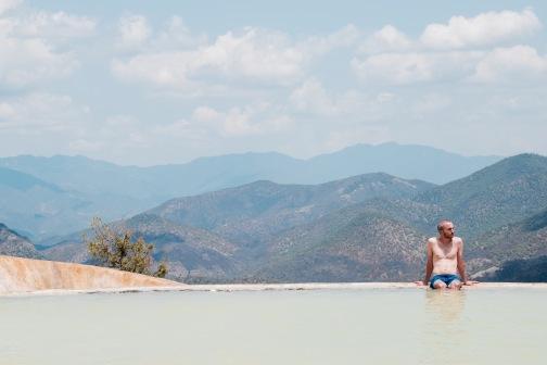 Bassins d'eau mineral - Hierve El Agua