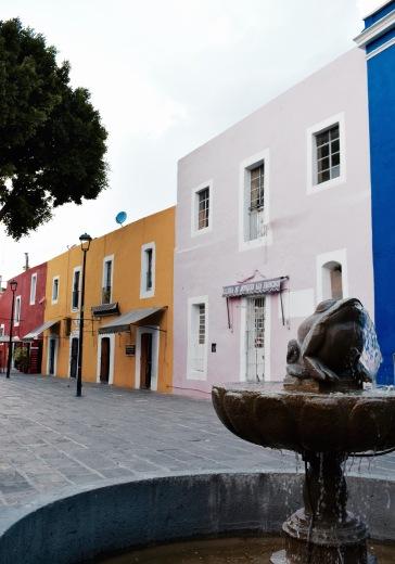 Rues colorées - Puebla