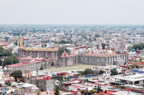 Vue de la ville - Cholula