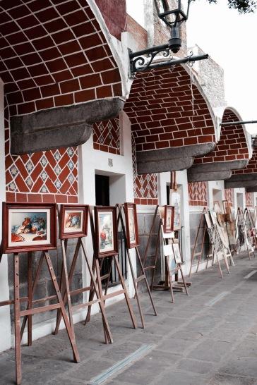 Quartier des artistes - Puebla