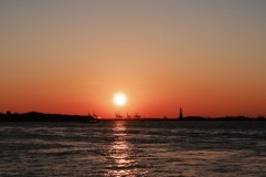 Coucher de soleil - New York