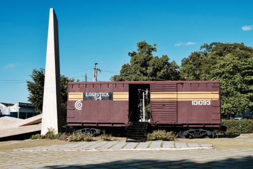 Train blindé - Santa Clara