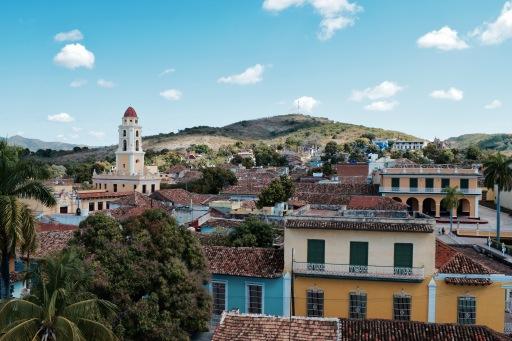 Vue depuis le Palacio Cantero - Trinidad