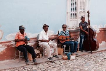 Musiciens de rue - Trinidad