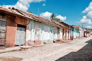 Ruelles colorées - Trinidad