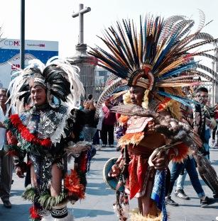 Danseurs traditionnels - Mexico