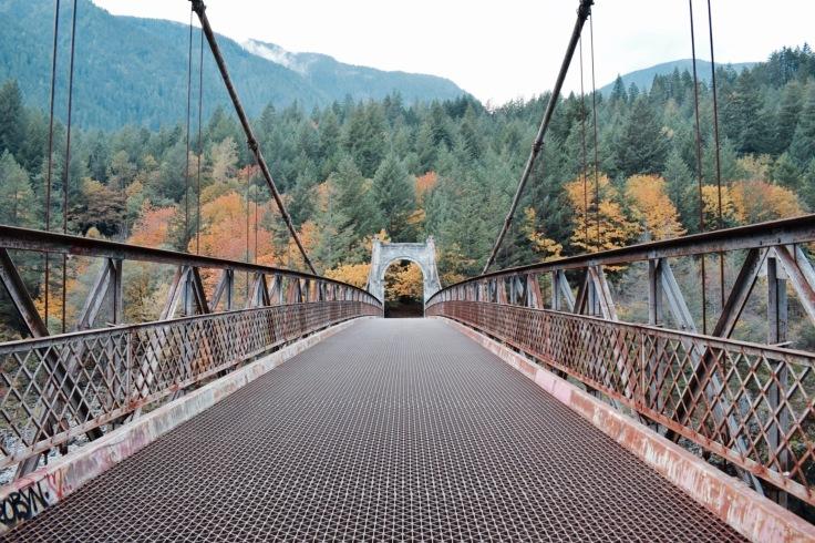 Alexzandra Bridge - Canyon du Fraser