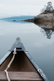 Balade en canoë - Salt Spring Island