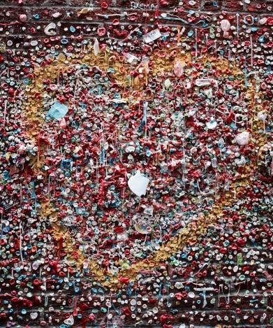 Mur de chewing-gum - Seattle